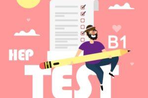 hep test b1